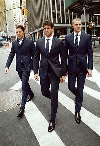 ブラックスーツの着こなし ...